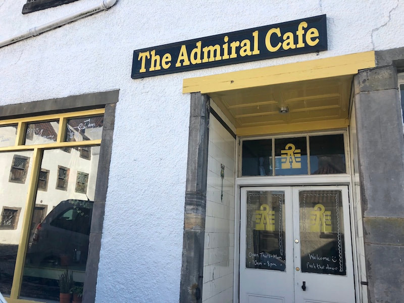 The Admiral Cafe, Fife