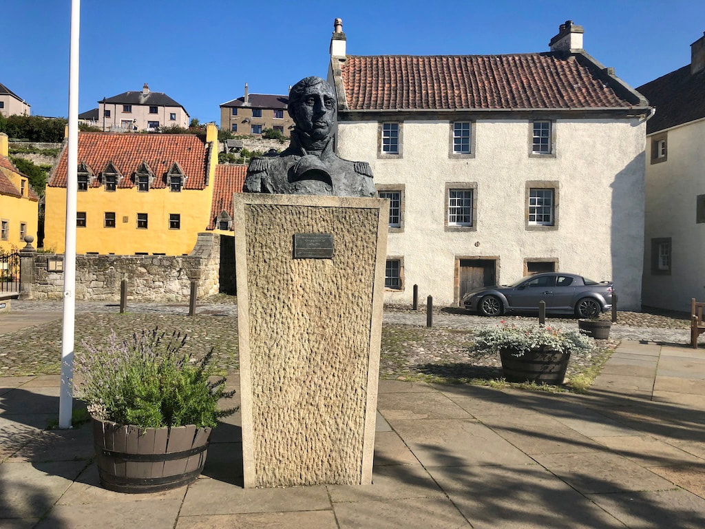 Culross, Outlander filming locations