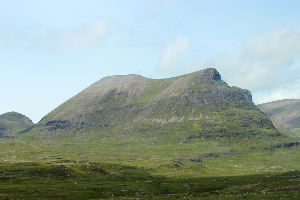 mountain on the NC500