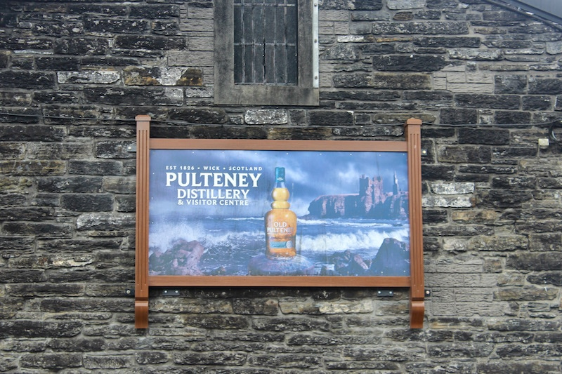 Whisky distillery on the North Coast 500