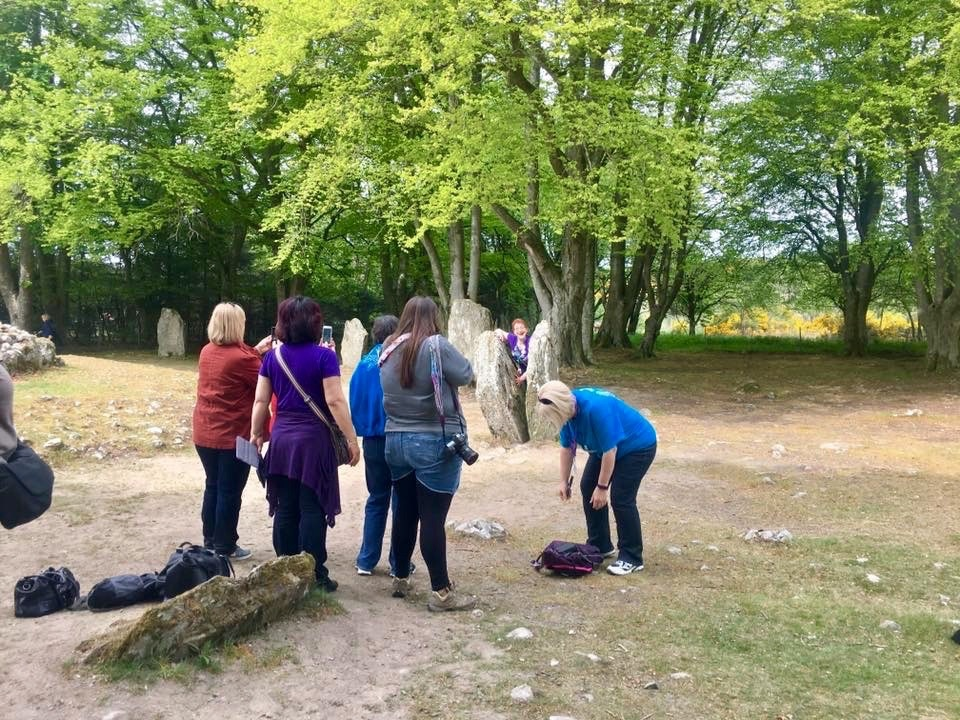 Outlander Gathering at Clava Cairns