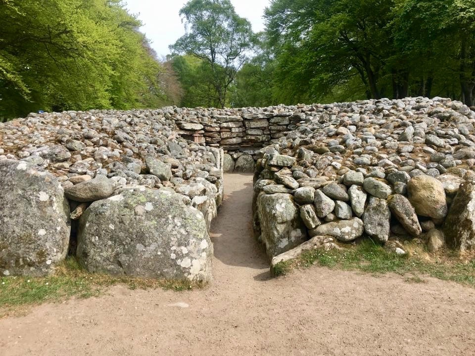Outlander filming locations, Clava Cairns