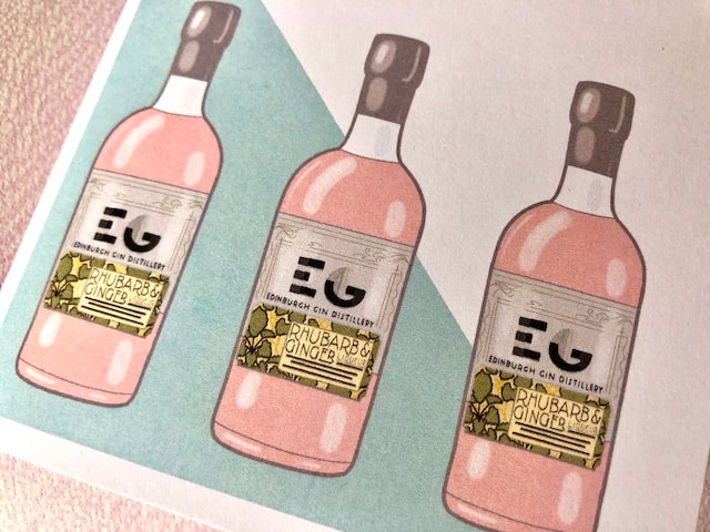 Edinburgh Gin card