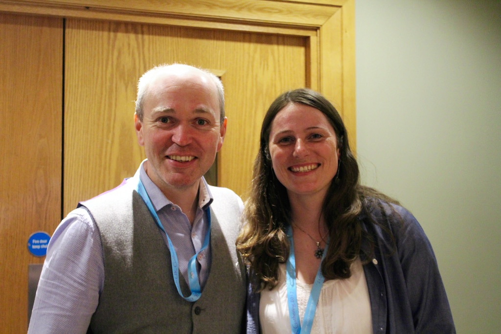 Claire MacKay and Gillebride MacMillan at Outlander Gathering