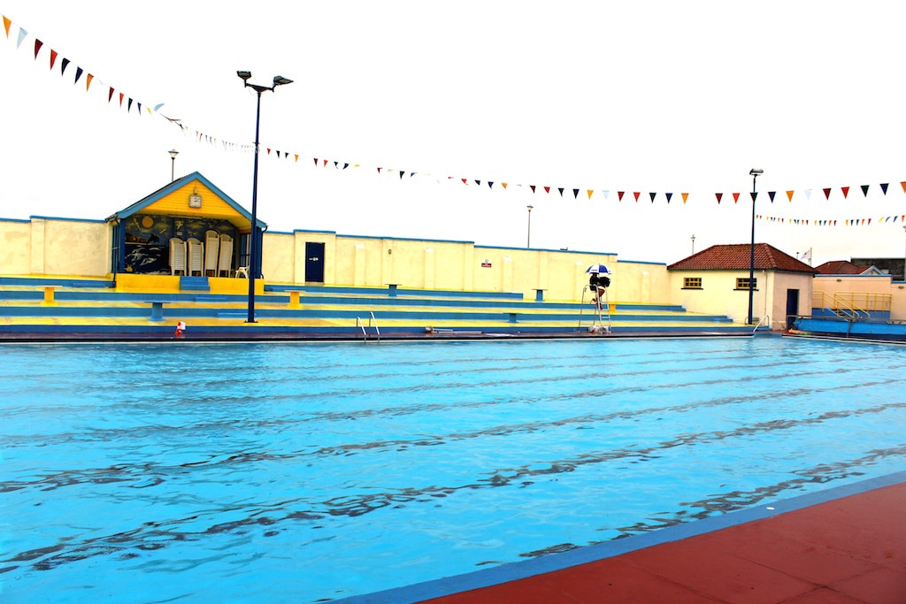 Open air pool in Stonehaven