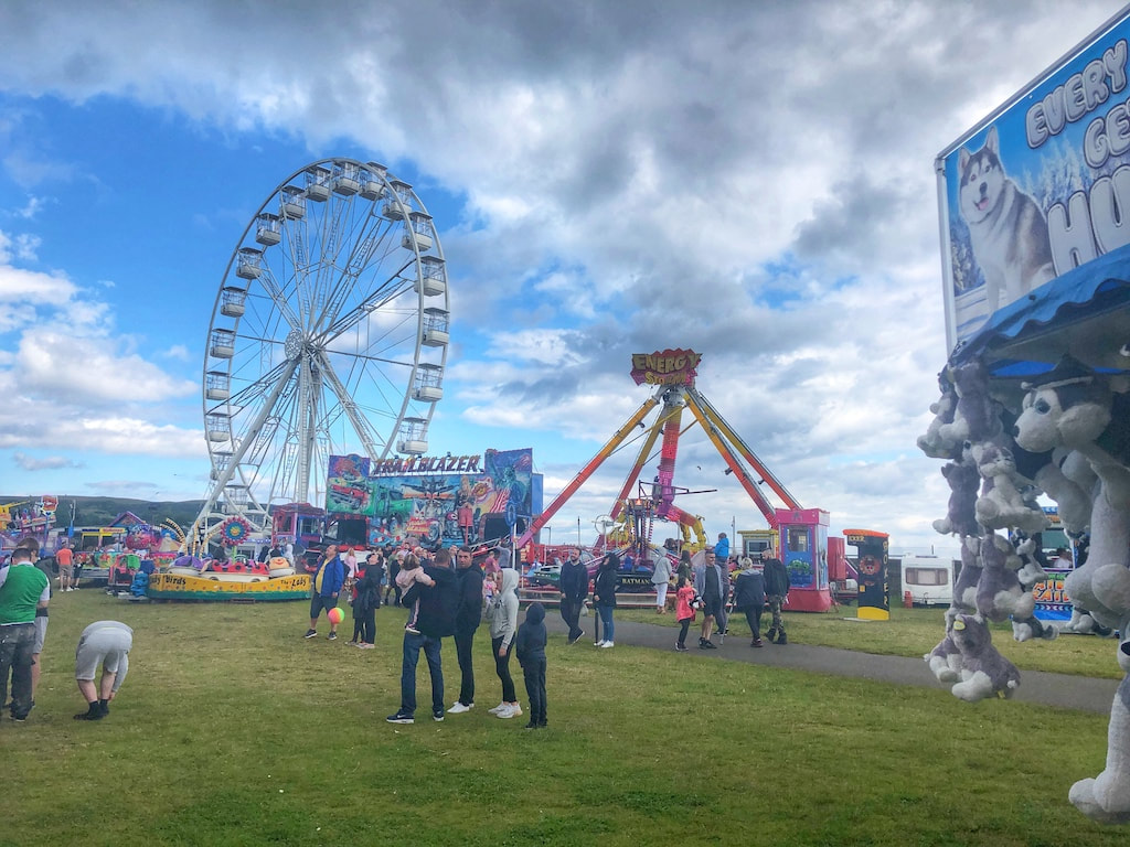 Burntisland Fife fairground