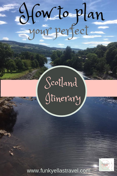 How to plan the perfect Scotland Itinerary. Where do you begin? How much can you realistically expect to see? How do I get around?
