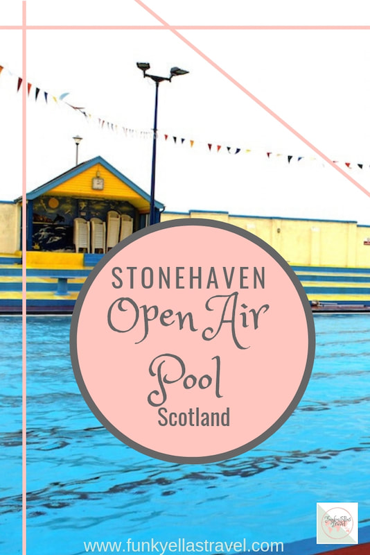 Stonehaven Open Air pool, just south of Aberdeen, Scotland