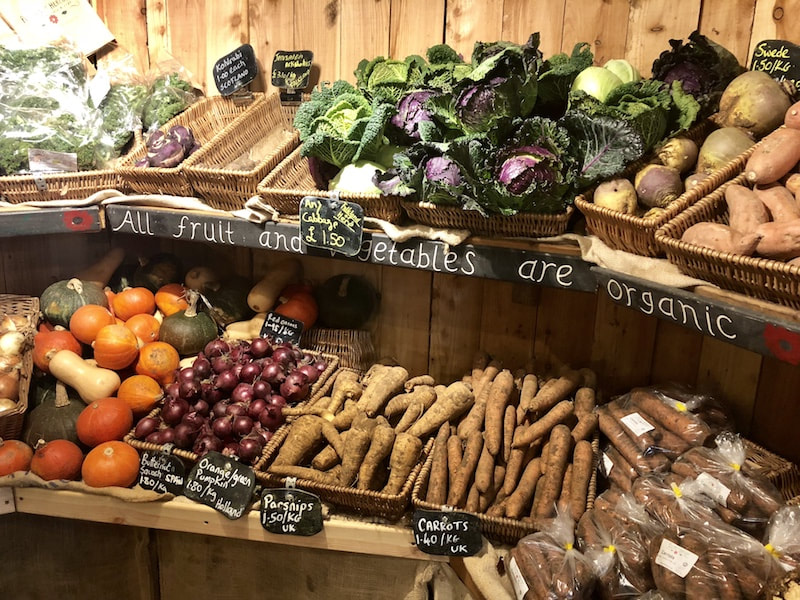 Organic farm shop in Fife