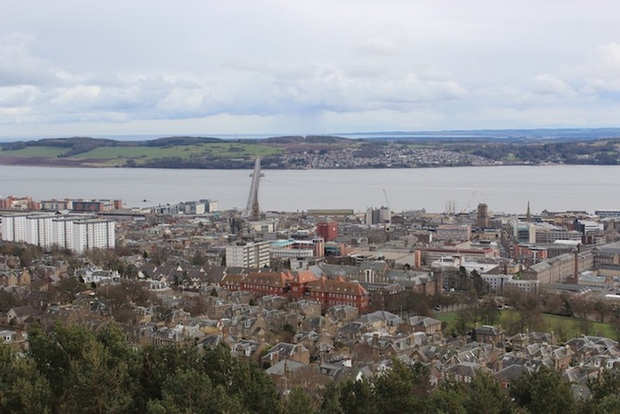 View from the Law, Dundee