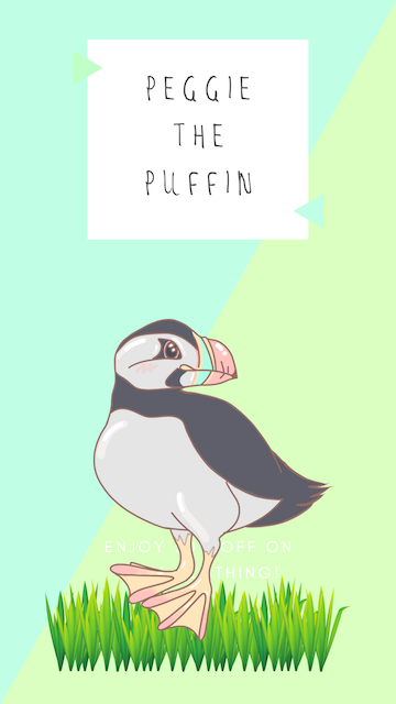 Peggy the puffin