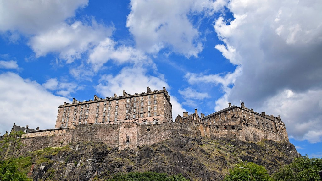 One day in Edinburgh, Edinburgh Castle