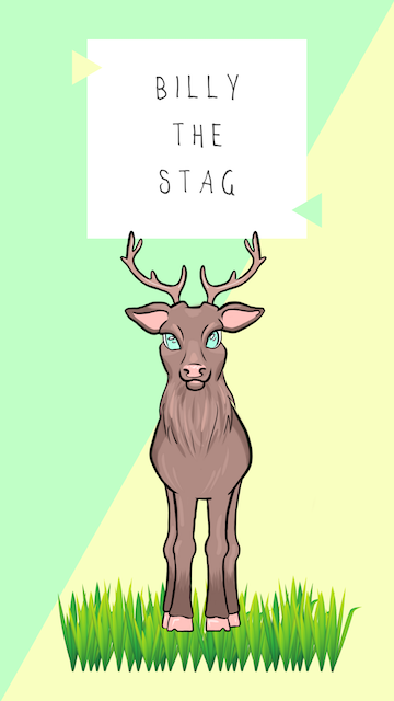 Billy the stag