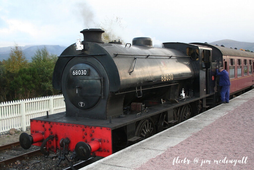 travel around the Cairngorms on the Strathspey steam railway