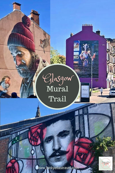 Explore the Glasgow Mural Trail the easy way, on a City Sightseeing bus!