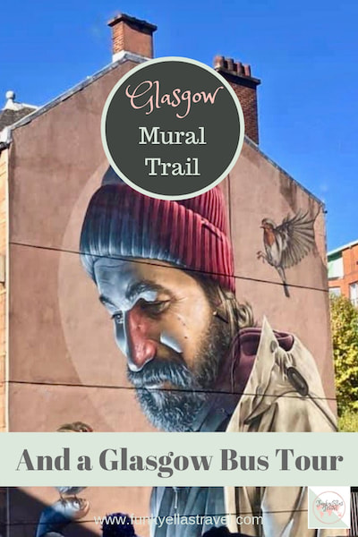 How to explore the Glasgow Mural Trail on an open top bus