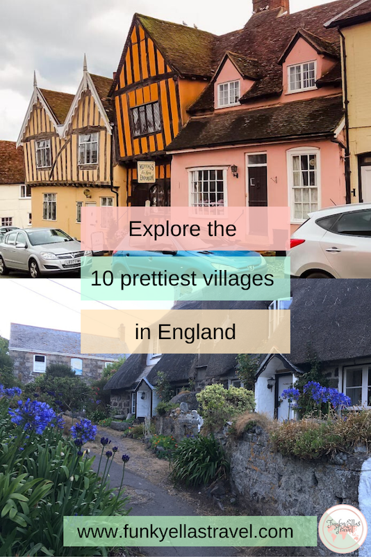 Explore the prettiest villages in England