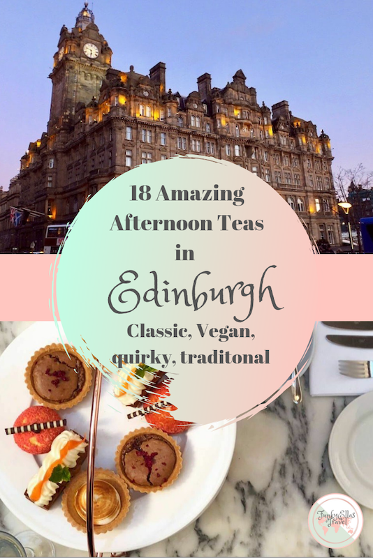 18 amazing afternoon teas in Edinburgh, from vegan and quirky to classic and traditional