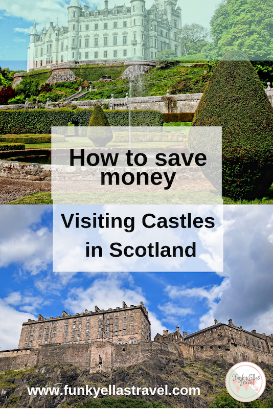 How to save money visiting castles in Scotland. By buying passes in advance you'll save money and get some freebies like discounts in the gift shop!